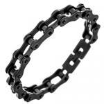 black Biker Bracelet