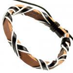 Black or Brown Leather Bracelet