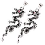 stainless steel dragon pendant