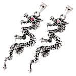 stainless steel dragon pendant