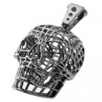 Wholesale Skull Pendant from Steel Wire